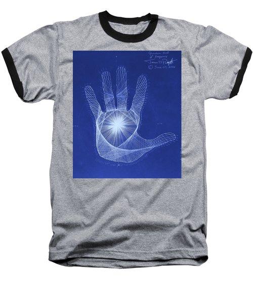 Quantum Hand Through My Eyes Baseball T-Shirt by Jason Padgett
