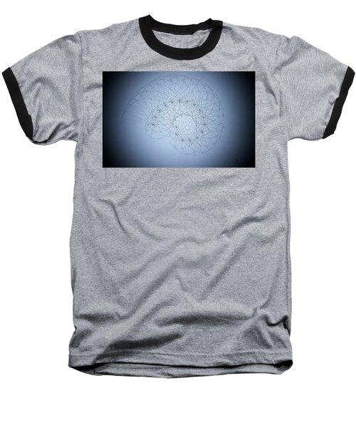 Quantum Nautilus Spotlight Baseball T-Shirt by Jason Padgett