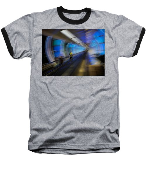 Baseball T-Shirt featuring the photograph Quantum Tunneling by Alex Lapidus