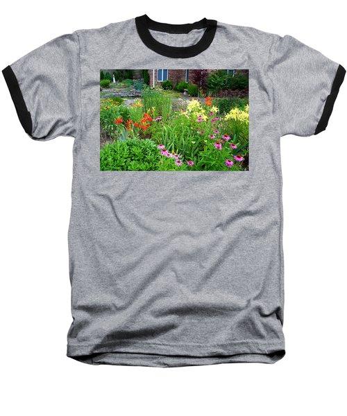 Baseball T-Shirt featuring the photograph Quarter Circle Garden by Kathryn Meyer