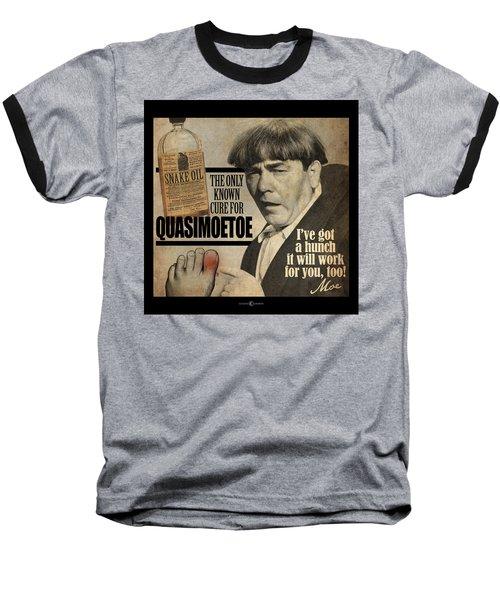 Quasimoetoe Poster Baseball T-Shirt