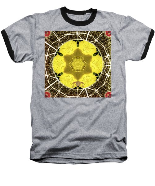 Queen Bee-nectar Of Life Baseball T-Shirt