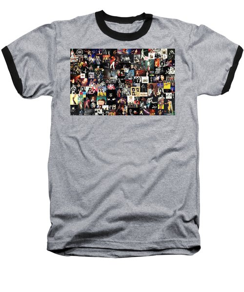 Queen Collage Baseball T-Shirt