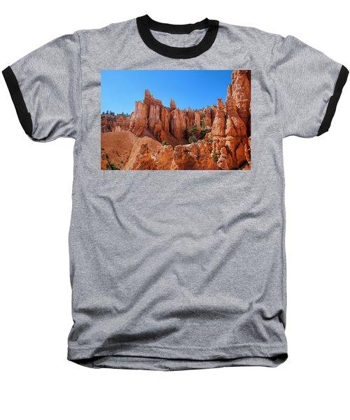 Queens Garden Window Baseball T-Shirt