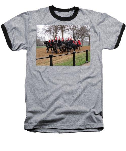 Baseball T-Shirt featuring the photograph Queen's Guard by Tiffany Erdman