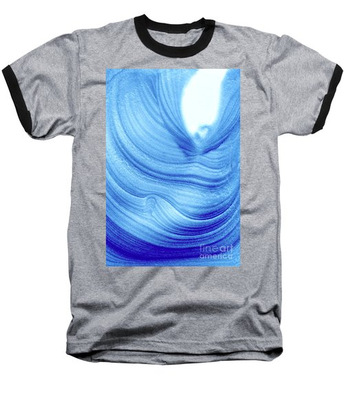 Query Blue 2 Baseball T-Shirt by Jamie Lynn