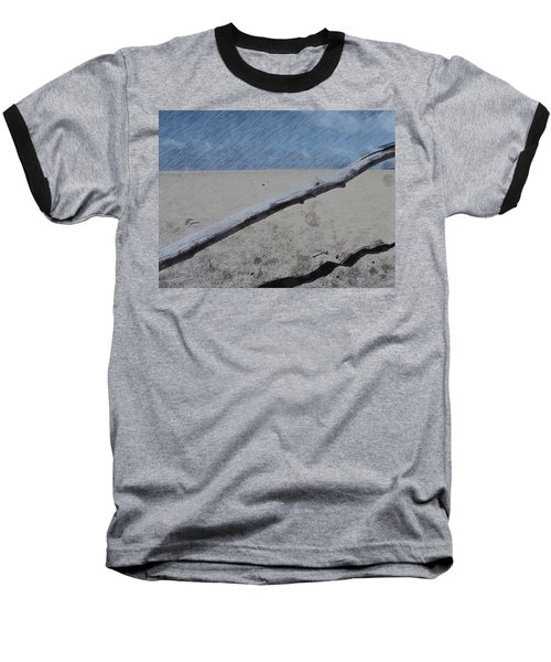 Baseball T-Shirt featuring the photograph Quiet Beach by Photographic Arts And Design Studio