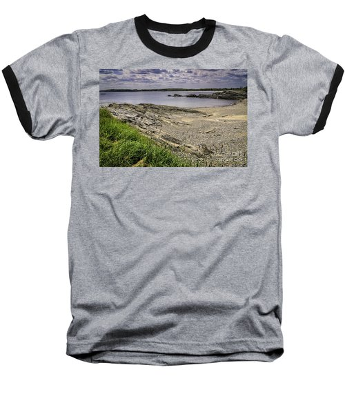 Baseball T-Shirt featuring the photograph Quiet Cove by Mark Myhaver