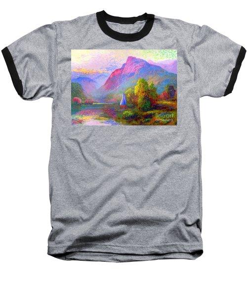 Sailing Into A Quiet Haven Baseball T-Shirt