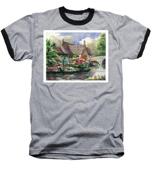 Quiet House Along The River Baseball T-Shirt