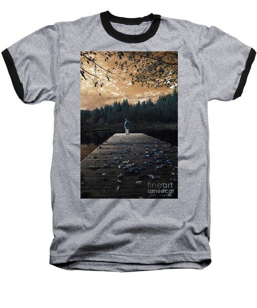 Quiet Moments Series Baseball T-Shirt