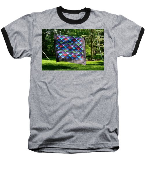 Quilt Top In The Breeze Baseball T-Shirt