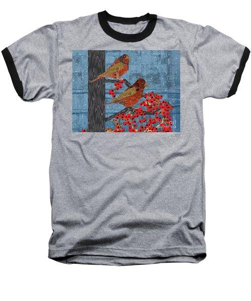 Sagebrush Sparrow Short Baseball T-Shirt