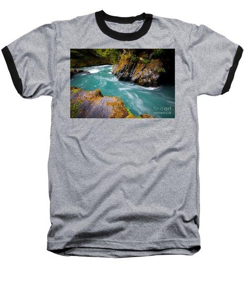 Quinault River Bend Baseball T-Shirt