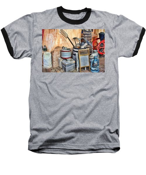 Quitting Time By Diana Sainz Baseball T-Shirt