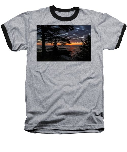 Quoddy Sunrise Baseball T-Shirt
