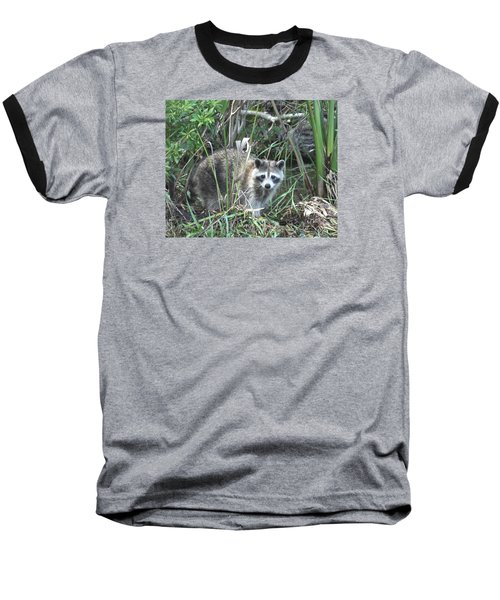 Raccoon Baseball T-Shirt