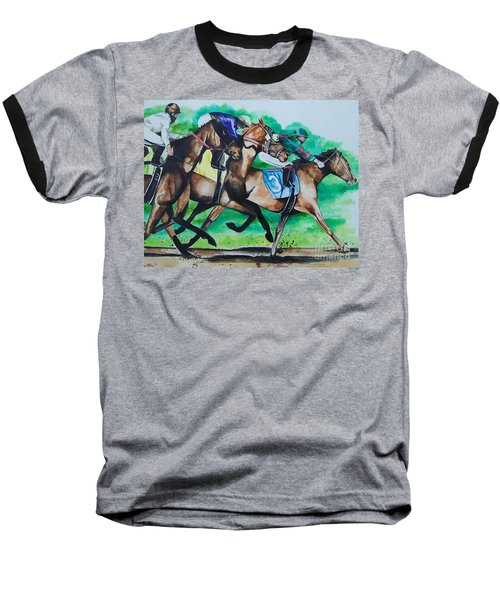Race Day Baseball T-Shirt