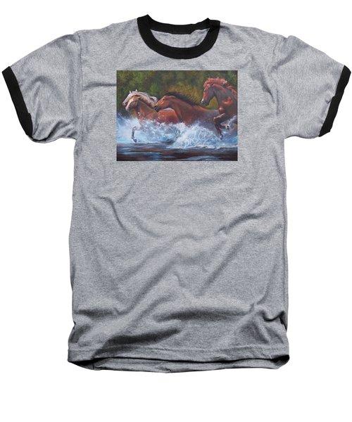 Race For Freedom Baseball T-Shirt