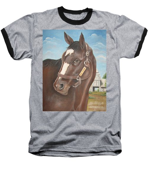 Rachel Alexandra At Stonestreet Farms Baseball T-Shirt