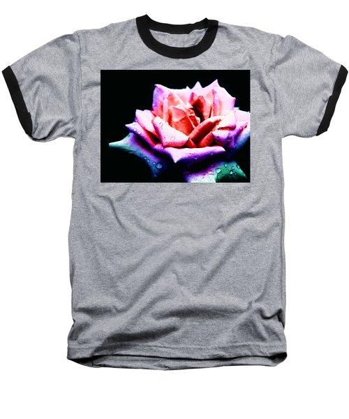 Baseball T-Shirt featuring the photograph Rachel's Rose by Rachel Mirror