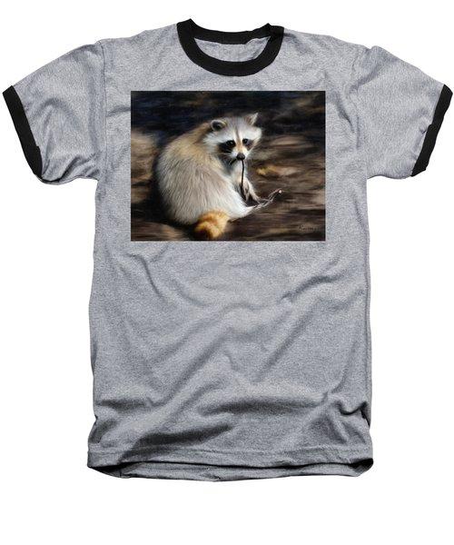 Racoon Baseball T-Shirt