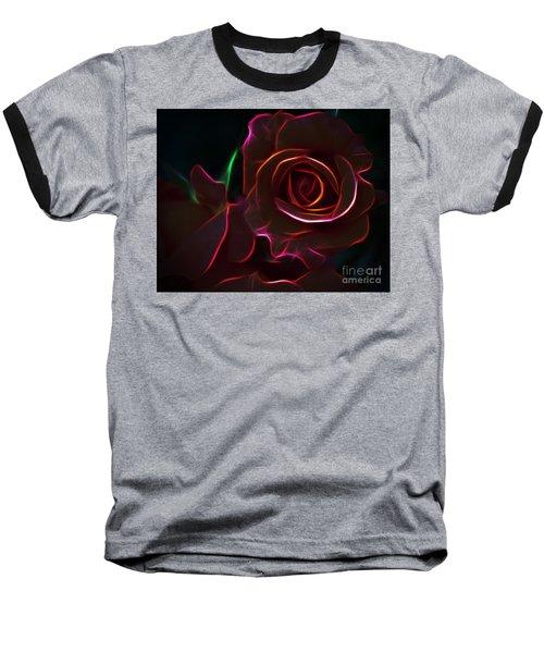 Radiant Rose  Baseball T-Shirt
