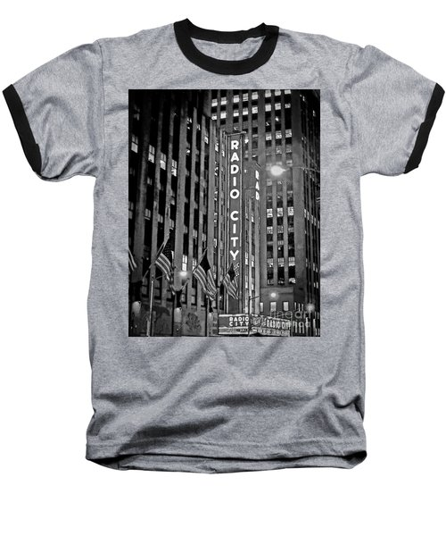 Radio City Music Hall Baseball T-Shirt