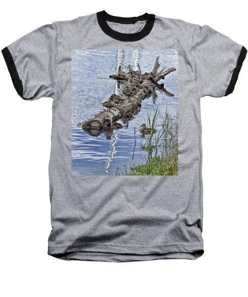Raft Of Ducks Baseball T-Shirt