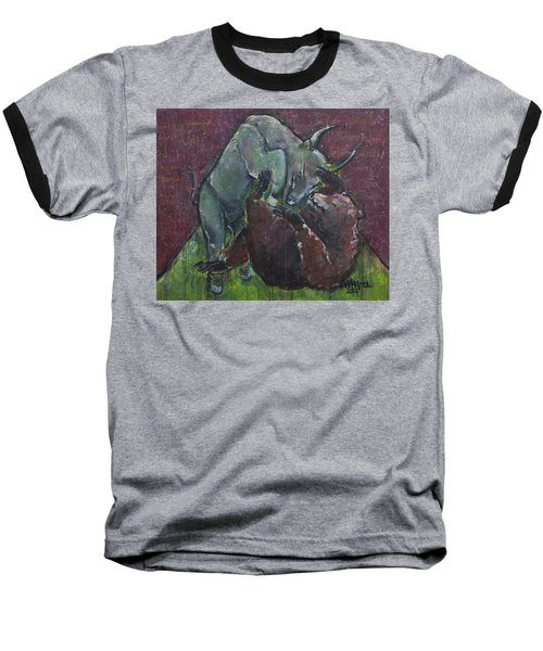 Rage And Roar Baseball T-Shirt