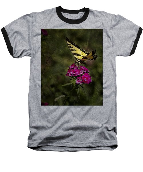 Baseball T-Shirt featuring the photograph Ragged Wings by Belinda Greb