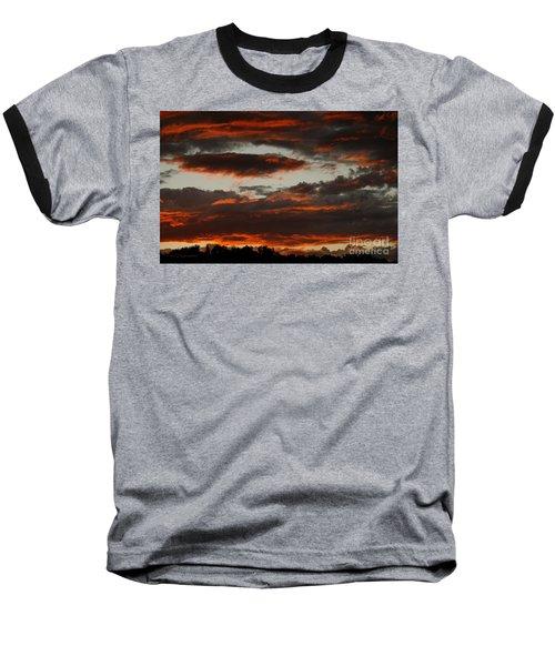 Raging Sunset Baseball T-Shirt