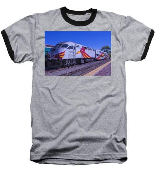 Rail Runner Santa Fe Baseball T-Shirt
