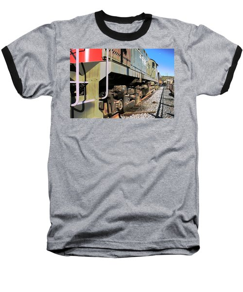 Baseball T-Shirt featuring the photograph Rail Truck by Michael Gordon