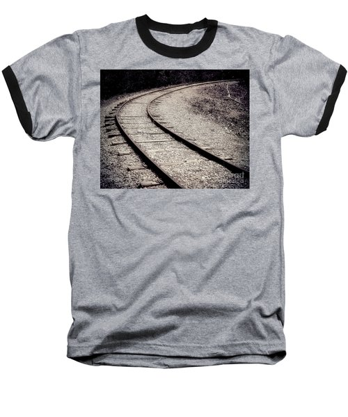 Rails Baseball T-Shirt by Liz Masoner