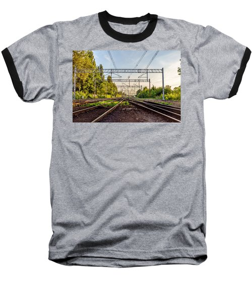 Railway To Nowhere Baseball T-Shirt