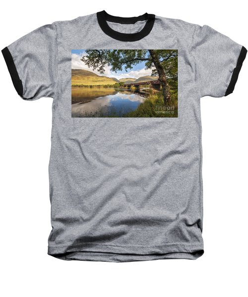 Railway Viaduct Over River Orchy Baseball T-Shirt