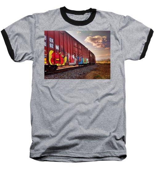 Railways Baseball T-Shirt