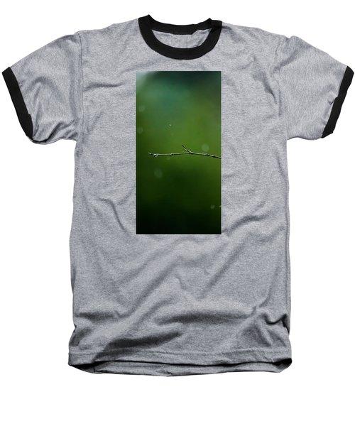 Rain Bokeh Baseball T-Shirt by Shelby  Young