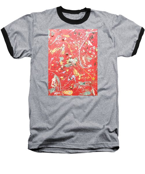 Rain Dance Baseball T-Shirt