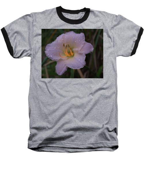 Rain Daylilly 2 Baseball T-Shirt