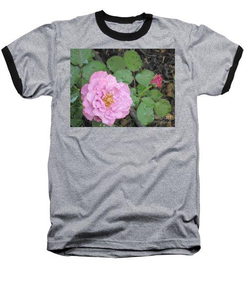 Rain Kissed Rose Baseball T-Shirt