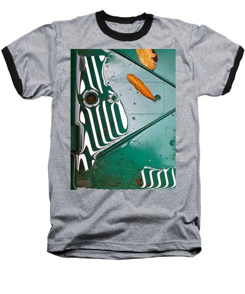 Baseball T-Shirt featuring the photograph Rain Reflections by Bill Owen
