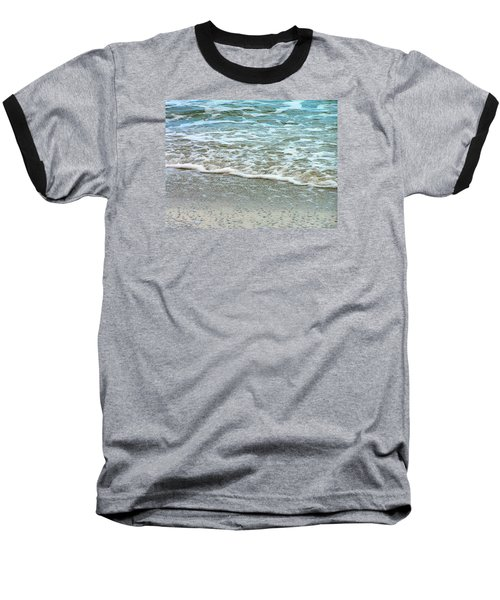 Rain Sea  Baseball T-Shirt by Oleg Zavarzin