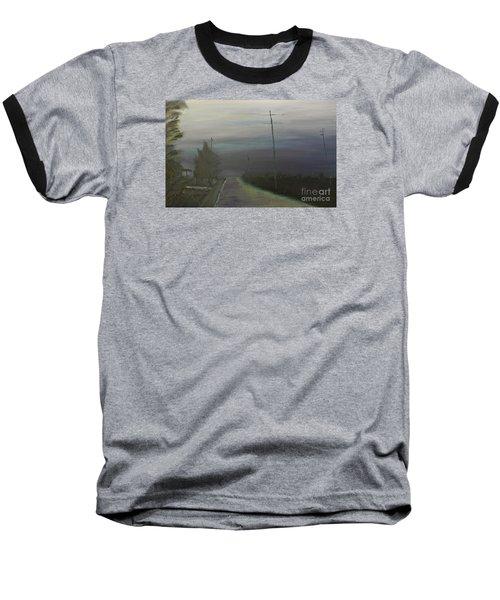 Rain Storm Baseball T-Shirt