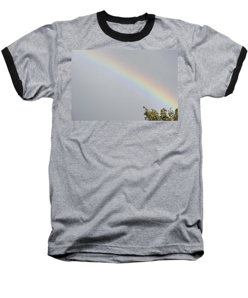 Rainbow After The Rain Baseball T-Shirt by Barbara Griffin