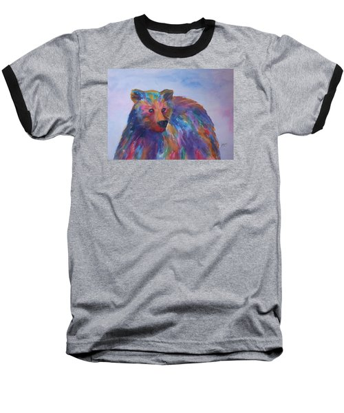 Rainbow Bear Baseball T-Shirt