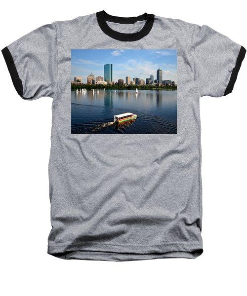 Rainbow Duck Boat On The Charles Baseball T-Shirt
