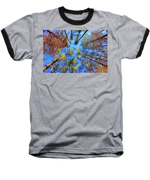 Rainbow Fall Baseball T-Shirt
