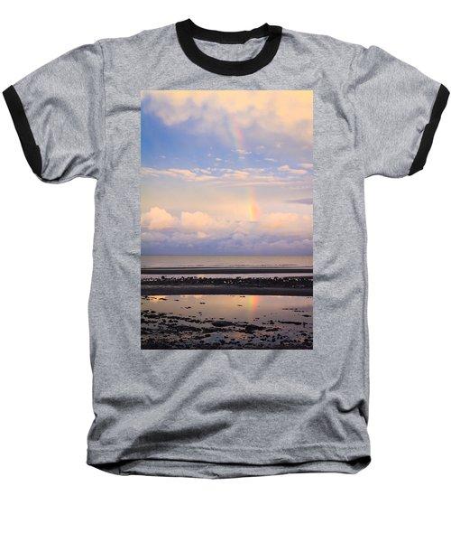Baseball T-Shirt featuring the photograph Rainbow Over Bramble Bay by Peta Thames